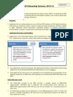 Leaflet on HKPFS 2013-14