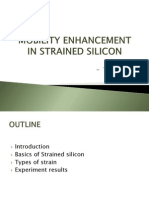 Mobility Enhancement in Strained Silicon