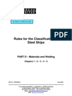 DNV Materials Rules
