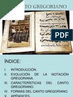 El Canto Gregoriano PDF