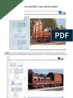 """Modélisme ferroviaire à l'échelle HO. 8. Wagons """"Shimms"""" par H.Leclère"""