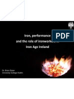 iron performance and the social role of ironworkers in iron age ireland