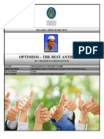 Islamic Speech Review - Optimism
