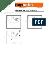 HoopNotes - 05 Nov 12 - Raptors DeRozan Quick Hitter