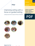 Guided Writing Materials