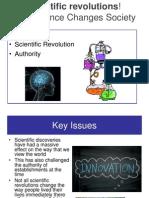 Scientific Revolutions!
