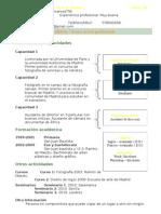 Curriculum Vitae Lucia