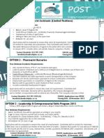 Marketing Flyer 2013 Pharm & Asssist Pharm MamsFM