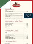 The Baron Wine List Woodmead