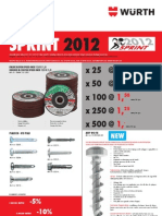 Sprint 11/12-2012 Metal Maintenance