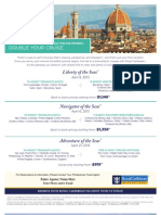 Supremeclienteletravel RCCL Transatlantic 2013 Packages