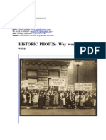 Historic Photos Why Women Can Vote!