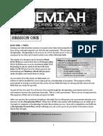 Nehemiah Session One