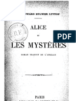 Sir Edward Bulwer Lytton - Alice ou Les Mystères