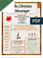 November 4 Newsletter