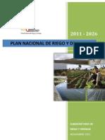 96314887 Plan Nacional de Riego y Drenaje