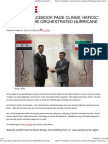 Pro-Assad Syrian Page Says Iranian Scientists Made Hurricane Sa
