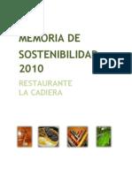 2010 Memoria Rse