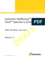 NetBackup OperGuide Vault