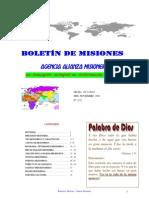 Boletin de Misiones 05-11-2012