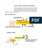 External Influences on IBE