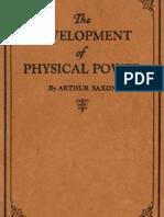 Development of physical power