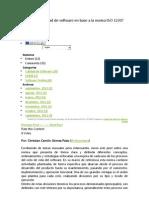 Criterios de Calidad de Software en Base a La Norma ISO 12207