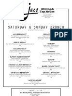 FALL Brunch Menu