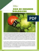 CATALOGO DE INSUMOS BIOLÓGICOS