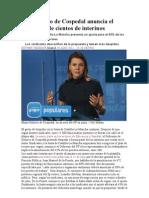 El Gobierno de Cospedal anuncia el despido de cientos de interinos.doc