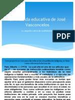 La cruzada educativa de José Vasconcelos