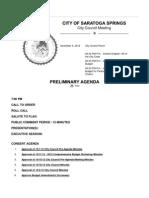 11-5-2012 Preliminary Agenda (2)