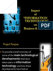 Impact of IT on Business & Society