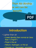 Lighter Than Air Airship 1