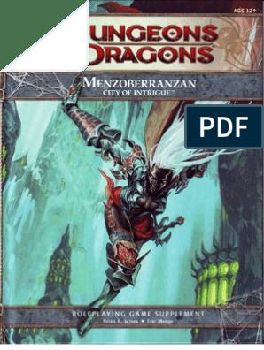 Menzoberranzan - City of Intrigue (ClearScan OCR) A6