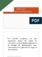 CAPITULO v Metodos Energeticos
