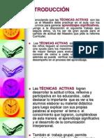 TECNICAS ACTIVAS
