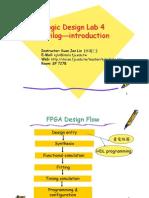 Logic Design Lab Verilog 101