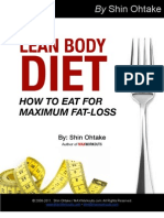 Lean_Body_Diet by Shin Ohtake