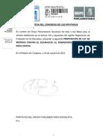 Proposición de Ley Contra Desahucios