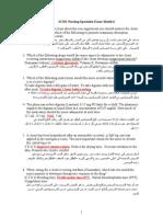 SCHS Nursing Specialist Exam Model 6