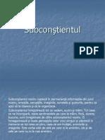 Subconstientul Si Starea de Coma