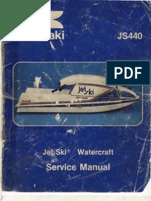 Jet Ski JS440 Manual | Piston | Carburetor