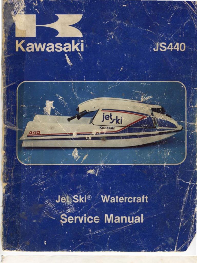 jet ski js440 manual piston carburetor  kawasaki js440 wiring diagram #4