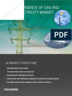 Convergence of Gas and Electricity Market