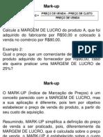 Custos Markup