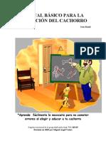 MANUAL BÁSICO PARA LA  EDUCACIÓN DEL CACHORRO