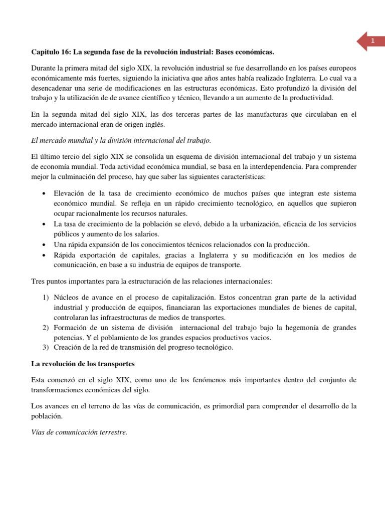 Resumen Gomez Navarro Capitulo 16 en Adelante