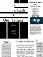 The Prophetic Faith of Our Fathers v 1