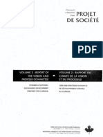 Planning for a sustainable future-Projet de société- volume 2